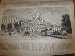 1868 TURIN-gare;La-Chaux-de-Fonds ;Joute Du HAKELN;Foire Aux Jambons Bvd Bourdon;Chanson Sarah-la-Grise;TABOGA (Panama); - Old Paper