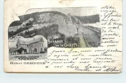 BARRAGE DE LA GILEPPE - Hubert Gregoire, Hôtel Restaurant. (carte Vendue En L'état) - Eupen