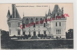 86 - MONTMORILLON - CHATEAU DE LALANDE - Montmorillon