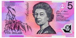 AUSTRALIA 5 DOLLARS 2008 Pick 57f Unc - Emisiones Gubernamentales Decimales 1966-...