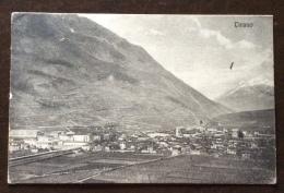 TIRANO SONDRIO - PANORAMA  - VIAGGIATA 1918 TIMBRO  CENSURA MILITARE SONDRIO - ED.FIORENTINI E REDAELLI - TIRANO - Sondrio