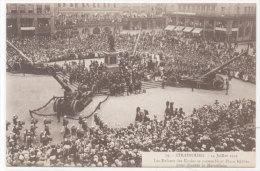STRASBOURG - 14 Juillet 1919 - Les Enfants Des Ecoles Se Rassemblent Place Kléber Pour Chanter La Marseillaise (77820) - Strasbourg