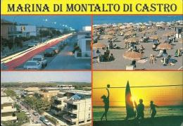 MARINA DI MONTALDO DI CASTRO  VITERBO  Vedutine - Viterbo