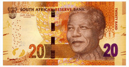 SOUTH AFRICA 20 RAND ND(2013) Pick 139a Unc - South Africa