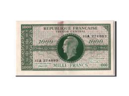 """1000 Francs Marianne 1945 """"Chiffres Gras"""" - Trésor"""
