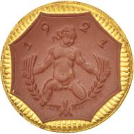 [#44408] Allemagne, Nécessité En Porcelaine, Saxe, 5 Mark 1921, Doré - [11] Collections