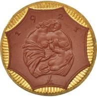 [#44410] Allemagne, Nécessité En Porcelaine, Saxe, 20 Mark 1921, Doré - [11] Collections