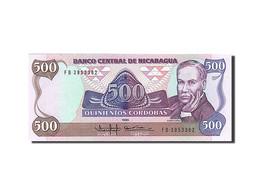 Nicaragua, 500 Cordobas, Type Ruben Dario - Nicaragua
