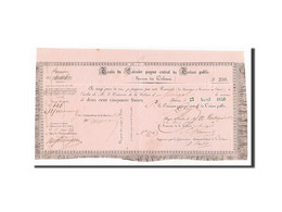 [#13193] Sénégal, Traite De 250 Francs, 23 Avril 1850, Kolsky 69 - Sénégal