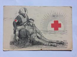 AK   ROTEZ KREUZ    RED CROSS   1915 - Rotes Kreuz