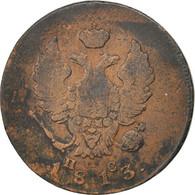 Russie, Alexandre I, 2 Kopeks 1813 IM PC, KM C118.4 - Besancon