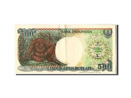 Indonésie, 500 Rupiah Type Orang Outan - Indonesia
