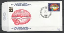 ENVELOPPE FDC (P 683)  TP N° 2084 (CACHET POSTAL DE DENDERMONDE) - FDC