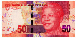 SOUTH AFRICA 50 RAND ND(2013) Pick 140a Unc - South Africa