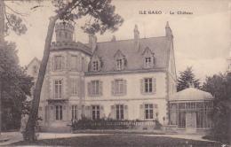 Cpa Ile Garo - Le Château - France