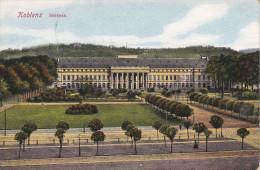 Alemania--Koblenz--1925--Schloos--Le Chateau--Ballon--Poste Aux Armees--a, Seine, Francia - Castillos