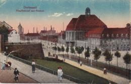 Alemania--Dorrmund--Haupbahnhof Und Freistuhl--a, Francia - Dortmund
