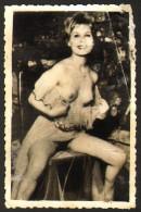 Pin-up Nude Girl Photo 6x9 Cm     #17130 - Pin-Ups