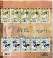 Belg. 2015 - COB N° 4520 Et 4521** - Une Reine Mémorable (50ème Anniversaire Du Décès De La Reine Elisabeth) (F4520/21) - Belgique