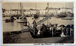 Photo Bateau Port Ship 1928 île D´Yeu Vendée 85 Bretagne - Plaatsen