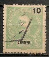 Timbres -  Portugal - Zambèze - 1898 - 10 Reis - - Zambèze
