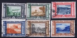 Italia: 1933 Sa Nr  45 - 50   Mi Nr 439 - 444  Used - 1900-44 Vittorio Emanuele III