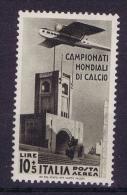 Italia: 1934 Sa Nr A72   Mi Nr 487 MH/* - 1900-44 Victor Emmanuel III
