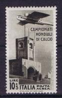 Italia: 1934 Sa Nr A72   Mi Nr 487 MNH/** - 1900-44 Victor Emmanuel III