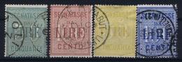 Italia:  Segnatasse Nr 2 + 5 Used - 1861-78 Vittorio Emanuele II