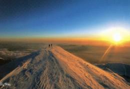 (D) 74   Lecoucher De Soleil  Au Sommet  Du Mont Blanc - Annecy-le-Vieux