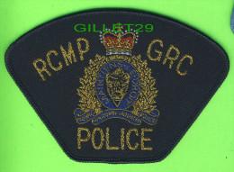 ÉCUSSON TISSU POLICE - PATCH POLICE - R.C.M.P. - G.R.S. POLICE, CANADA - - Ecussons Tissu