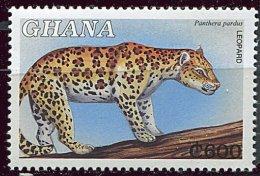 (cl 15 - P14)  Ghana **  N° 2563 (ref. Michel Au Dos) - Léopard - - Ghana (1957-...)