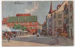 MULHOUSE - L' Hotel De Ville - Peinture De Fuetch (77866) - Mulhouse