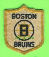 ÉCUSSON TISSU - PATCH - HOCKEY, BOSTON BRUINS  - - Ecussons Tissu