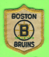 ÉCUSSON TISSU - PATCH - HOCKEY, BOSTON BRUINS  - - Patches