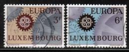 CEPT 1967 LU MI 748-49 USED LUXEMBOURG - 1967