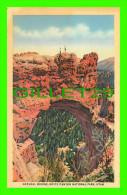 BRYCE CANYON NATIONAL PARK, UTAH - NATURAL BRIDGE, ANIMATED -
