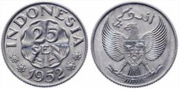 KATZ Indonesia 25 Sen 1952 KM#8 UNC (CG26248-IN97)