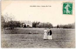Coulances ( Allier ) - Château Des Prats - France