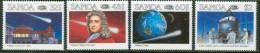 1986 Samoa Cometa Halley Set MNH** B517 - Samoa