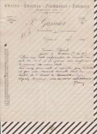 Facture / Courrier 1927 GRAINS GRAINES GASNIER VARADES - 1900 – 1949