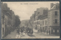 - CPA 29 - Quimper, L'avenue De La Gare - Quimper