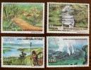 ZAIRE VOLCANS, VOLCAN, Geologie, Yvert 1315/18. MNH, Neuf Sans Charniere - Volcans