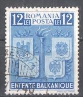 51-572 // ROM -1940   BALKAN ENTENTE   Mi  615 O - Gebraucht