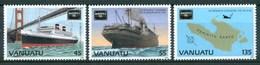 1986 Vanuatu Philatelic Exhibition Chicago  Navi Ships Navires Maps Cartes MNH** B523 - Vanuatu (1980-...)