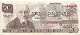 COSTA RICA - 20 Colones 1978 UNC - Costa Rica