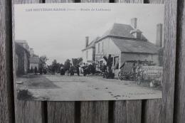 Carte Postale Ancienne Les Bruyères Radon Nièvre Route De Luthenay Matériel Agricole Milwaukee - France
