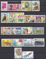 GUINEE-BISSAU - Yvert - Lot De 19 Timbres Différents - Cote 6,25 € - Voir Numéros Ci-dessous. - Lots & Kiloware (max. 999 Stück)