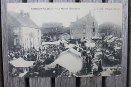 Carte Postale Ancienne Fourchambault Nièvre Le Marché Saint-Louis - France