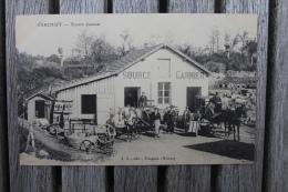 Carte Postale Ancienne Garchizy Nièvre Source Garnier Animation Attelages - France